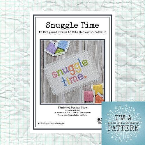 Snuggle Time - Pastel Pride Colourway - DIY PDF Pattern