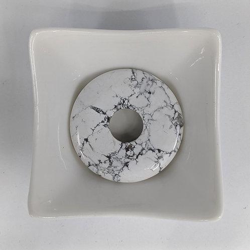 Howlite - Donut - 50mm