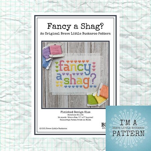 Fancy a Shag? - Pastel Pride Colourway - DIY PDF Pattern