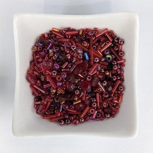 Bead Mix 19 - Raspberry - 50g