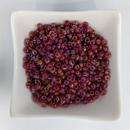 Seed Beads - #6 - Pink Lustre - 50g
