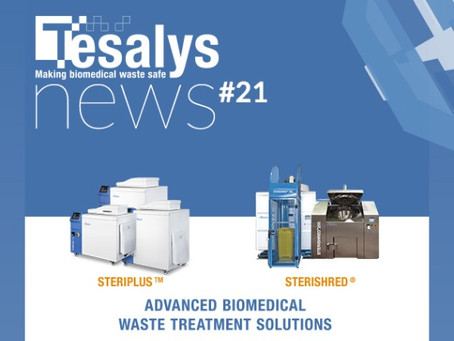 Infectious waste management during epidemic crises : Tesalys innovates