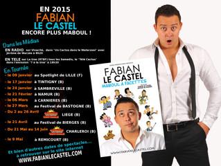En 2015, Fabian Le Castel encore plus Maboul!