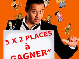 """Gagnez 5 X 2 Places pour le spectacle de Fabian Le Castel """"Maboul à Facettes"""" du 27 Septembre à Herv"""