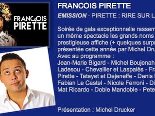Fabian Le Castel sur RTL-TVI ... plutôt bien entouré!