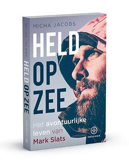 Boekcover Held op zee, het avontuurlijke