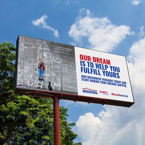 DreamKeep Rewards Billboard