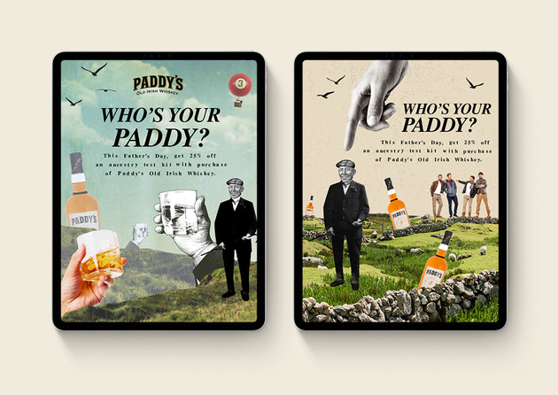 Paddy's Key Visuals