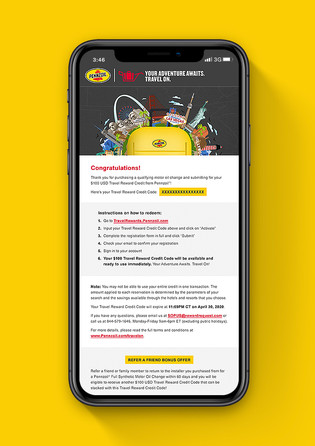 Shell Campaign Email
