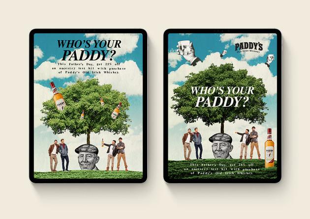 Paddy's Key Visual Alternates