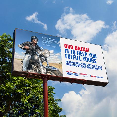 AmFam/DKR Billboard