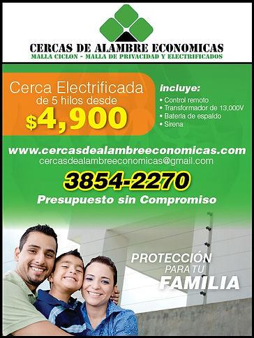 Cercas Electrificadas en Guadalajara
