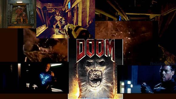 photo-montage de plusieurs photos tiré du film doom (2005)