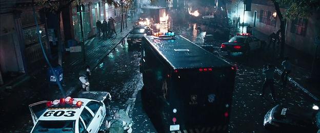 raccoon city photo apocalypse film