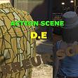 image du logo de D.E ,production de court-metrage du jeux vidéo grand theft auto 5 (action/horreur scene), france