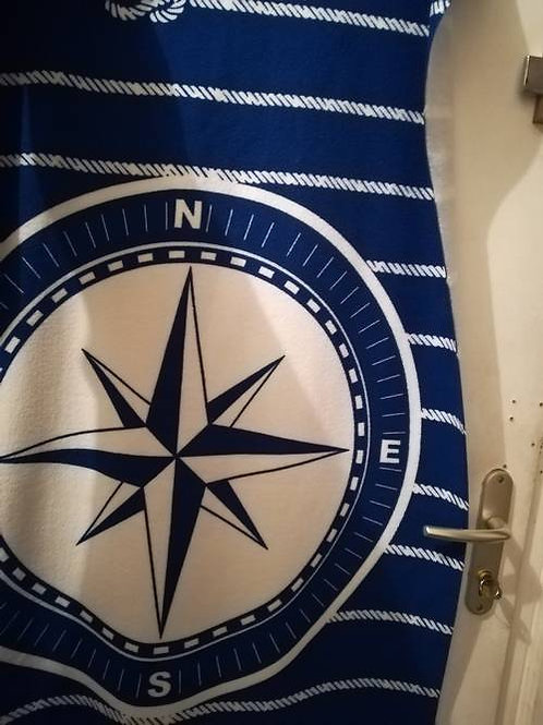 serviette marin