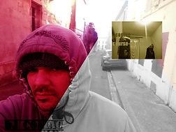 Photo de dj coniac (music rap) ,prise à Niort,France.