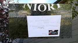 demande de proprieté d'un batiment ancienne gendarmerie mobile niort france