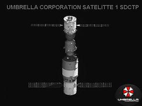 umbrella corporation satellite espace