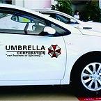 Autocollant-de-voiture-Resident-Evil-Umb