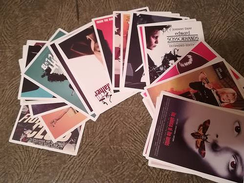 5 autocollants cinéma stickers  vente