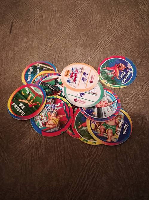 3 pog pod collection street fighter jouet
