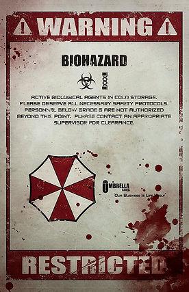 Original Giclee Art Print 'Biohazard'.jp