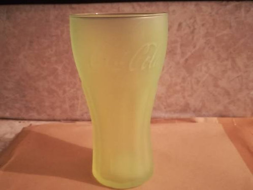 verre coca-cola en verre