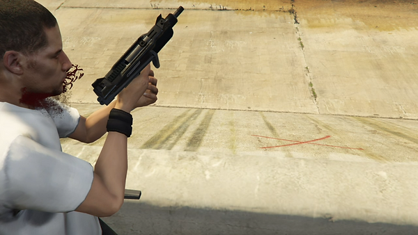photo d'un court metrage gta 5 action scene français visible sur youtube