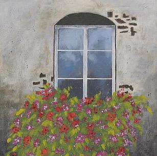 "Old Window - 16x12"""