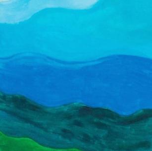 """Waves - Original Artwork 36x12"""""""