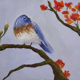 """Bluebird - 5x7"""""""