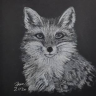 "Fox - Original Artwork 14x11"" - Print"