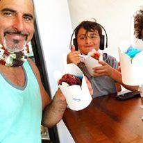Father Son eating snoballs.jpg