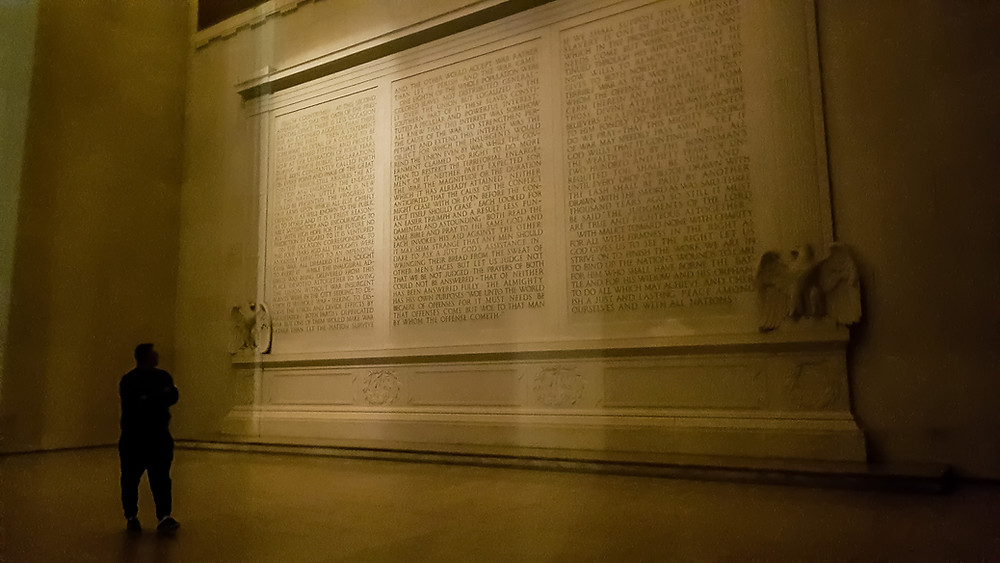 komnata filary świątynia temple usa waszyngton stany zjednoczone
