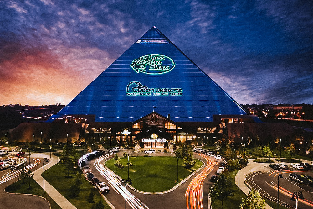 bass pro shops pyramid piramida memphis