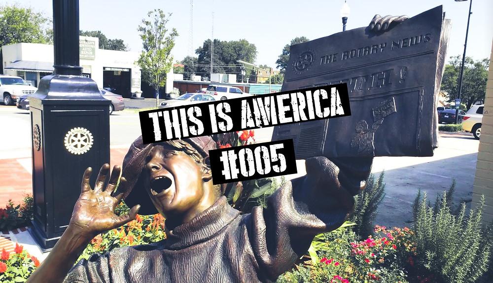 strona tytułowa this is america 005 vlog witamy w cary