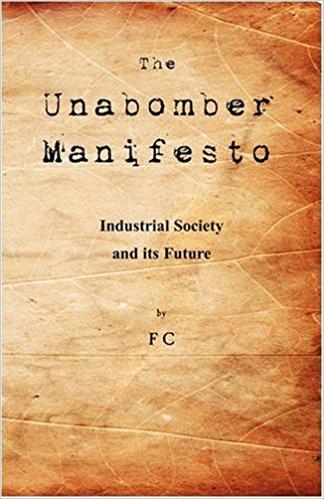 okładka manifestu unabombera