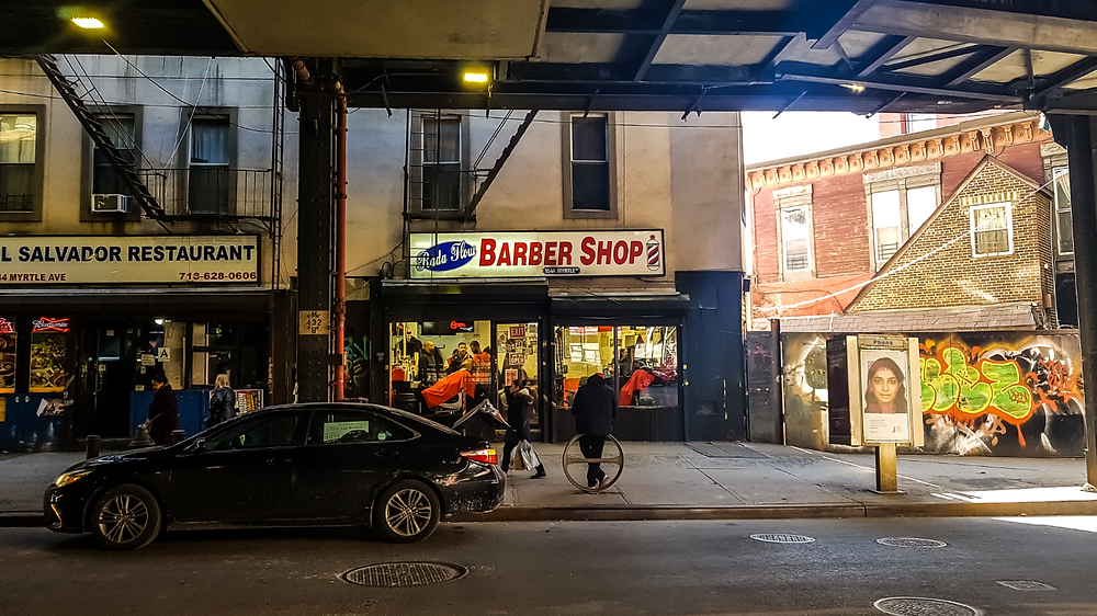 nowy jork new york queens barber shop usa america nyc yankees
