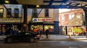 nowy jork new york queens barber shop usa america nyc yankees