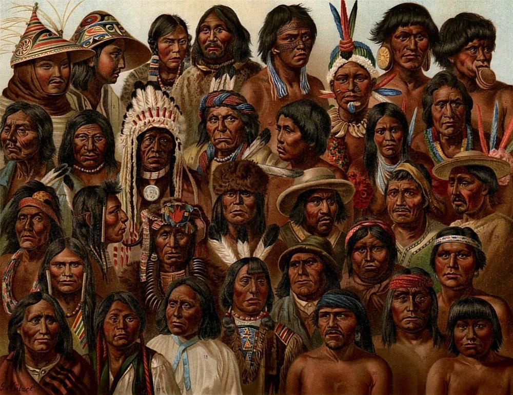 amerykańskie plemiona indian