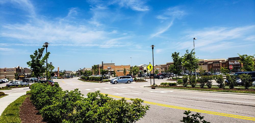 centrum handlowe starbucks shopping życie w usa zakupy w usa
