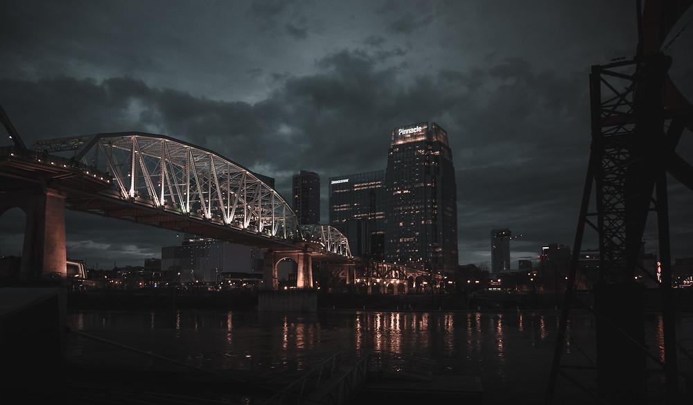 Nashville Tennessee most miasto Ameryka