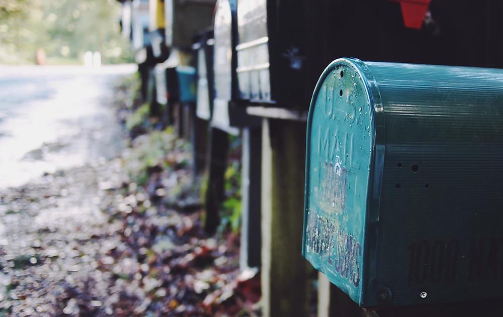 poczta w usa post office skrzynka pocztowa
