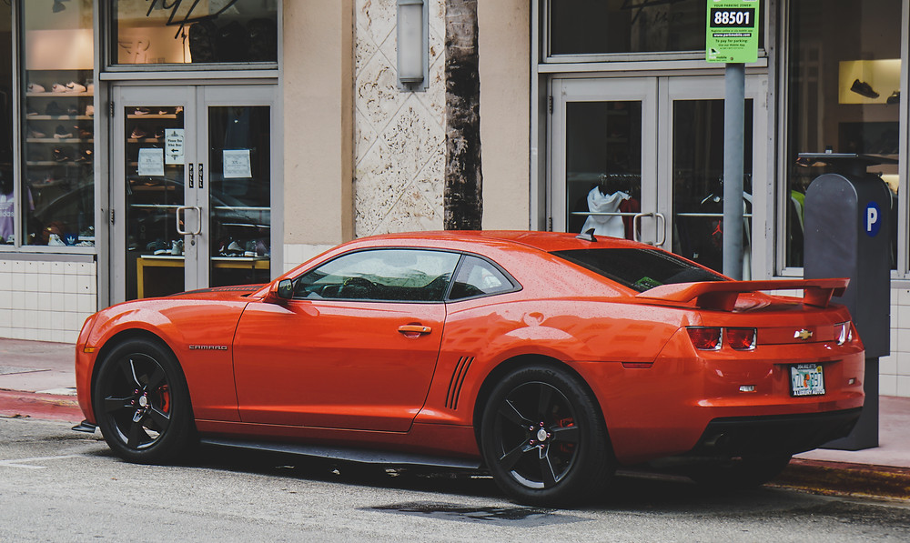 chevrolet camaro car samochód supercar american muscle red czerwony fura