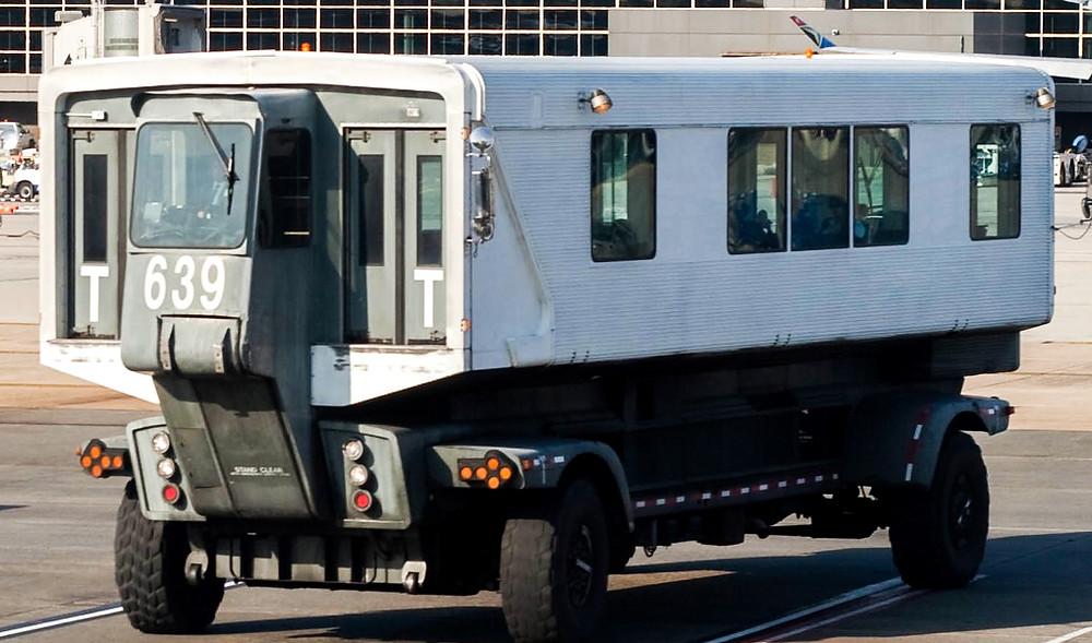 mobile lounge Dulles Washington Airport Stany Zjednoczone Ameryka