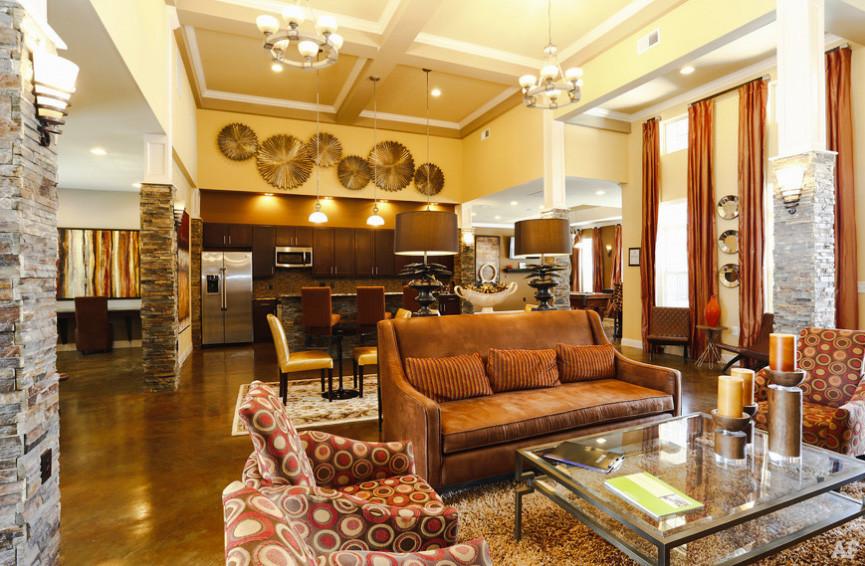 clubhouse lobby osiedle neighborhood usa north carolina stany zjednoczone ameryka mieszkania życie w usa