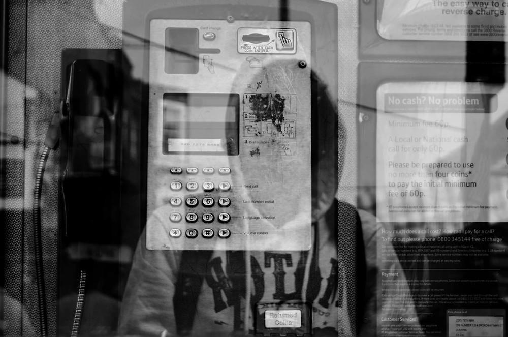 budka telefoniczna nieznajomy numer odbiorca maszyna usa