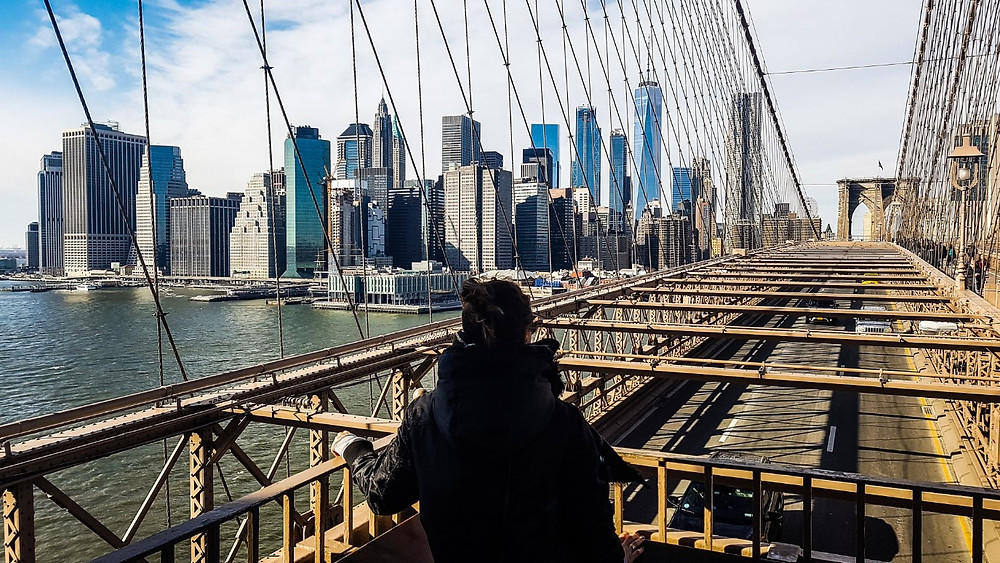 brooklyn bridge new york nowy jork most brooklynski usa ameryka