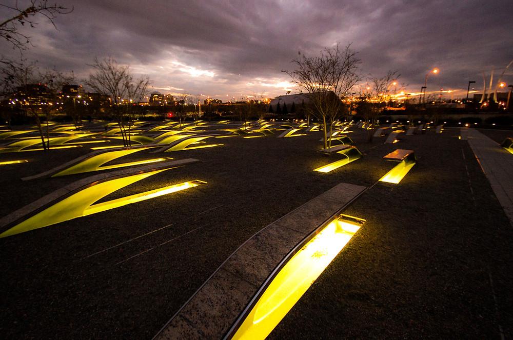 pentagon memorial washington waszyngton usa ameryka stany zjednoczone